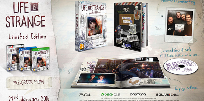 Life is Strange - limited edition contents
