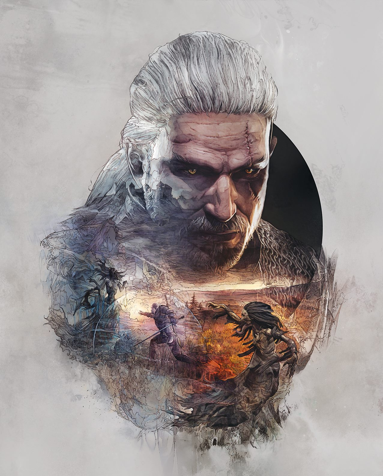 the witcher 3 art