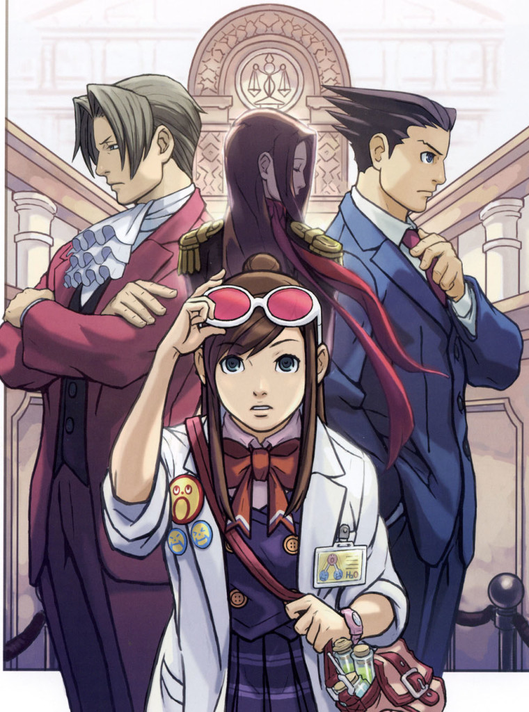 Phoenix Wright Ace Attorney Trilogy art002