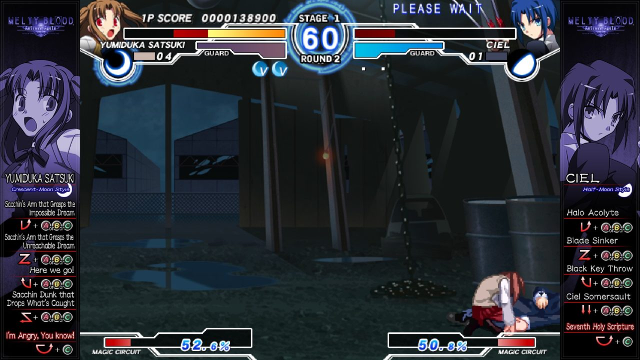 Melty Blood Actress Again Current Code img (2)