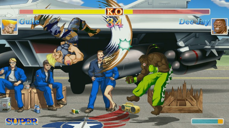 Ultra Street Fighter II The Final Challengers img4