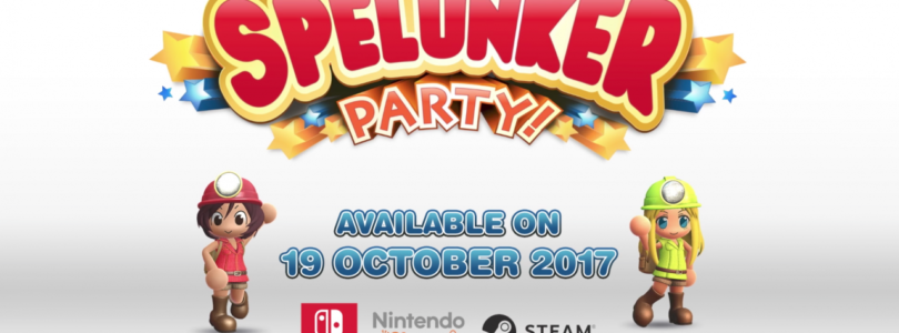 Spelunker Party arriva in occidente su Switch e PC il 19 ottobre