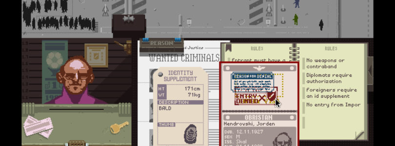 Trailer per l'adattamento cinematografico del titolo indie Papers, Please