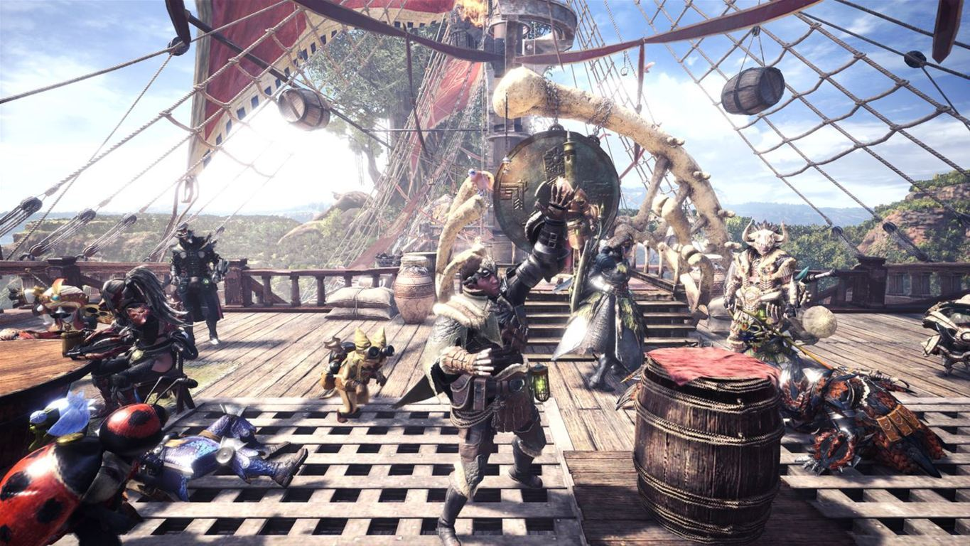 Monster Hunter World img002 geekgamer