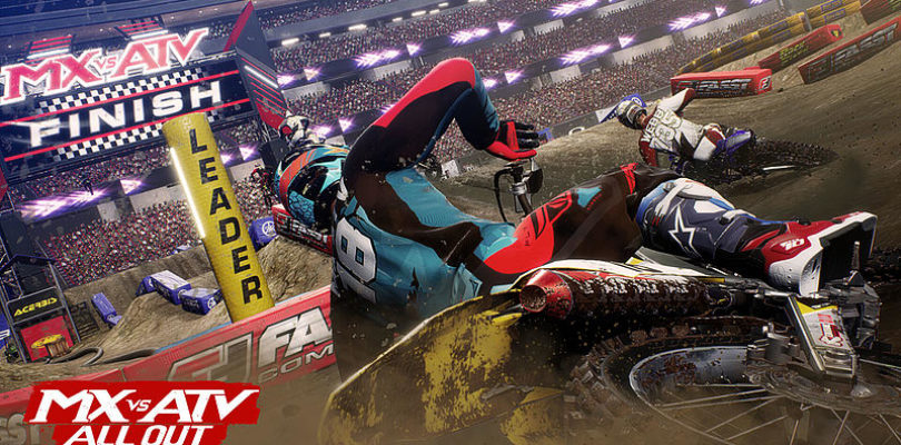 MX vs ATV All Out arriva oggi su PlayStation 4, Xbox One e PC