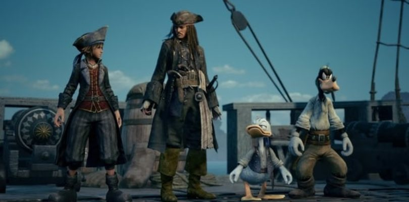 "Kingdom Hearts III conferma la presenza de ""I pirati dei Caraibi"" all'interno del gioco in un nuovo trailer"