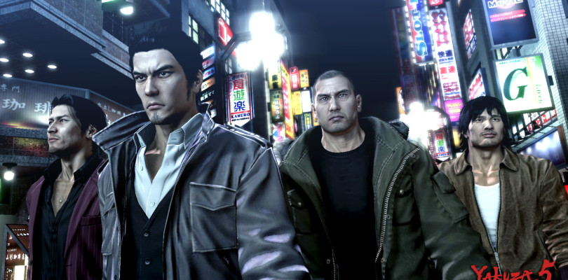 Yakuza 5 disponibile ora in occidente per PlayStation 3