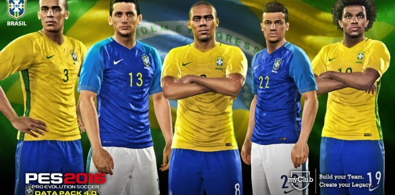PES 2016 – È già disponibile gratuitamente il data pack 4