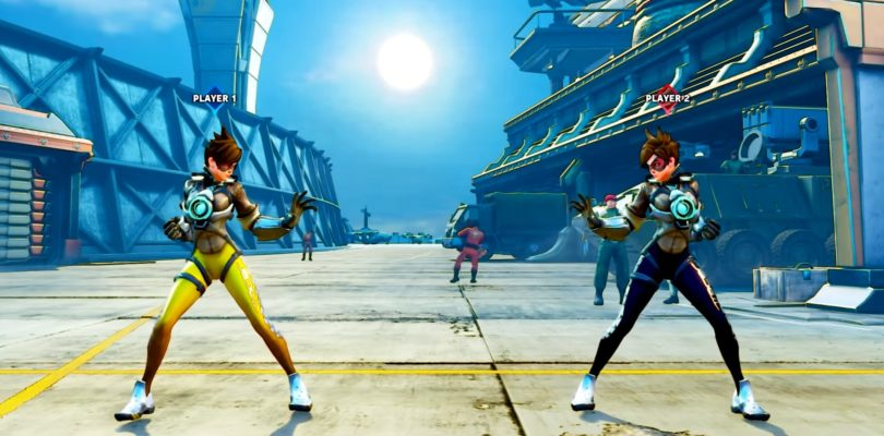 Tracer di Overwatch giocabile in Street Fighter V? Ma è solo una mod…