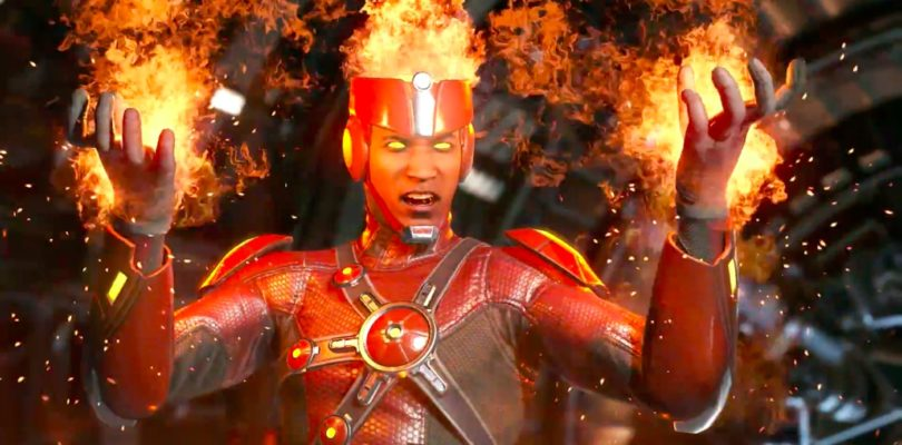 Injustice 2 – Ecco il trailer di debutto di Firestorm
