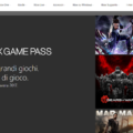 Xbox Game Pass web