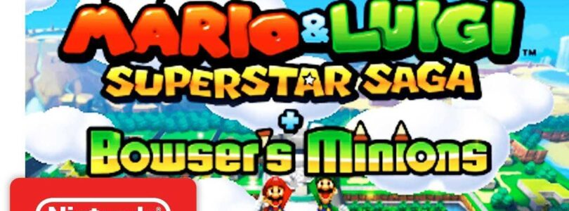 Mario & Luigi: The Superstar Saga + Bowser's Minions in arrivo su 3DS