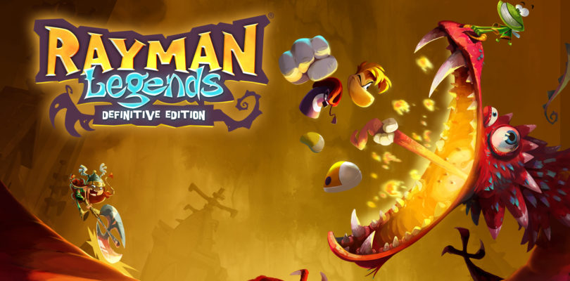 Annunciata la data d'uscita di Rayman Legends: Definitive Edition per Nintendo Switch