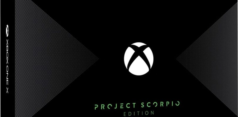 Microsoft presenta Xbox One X Project Scorpio Edition