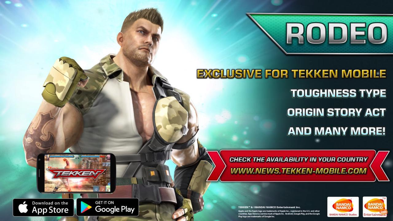 Tekken Mobile Introduce Rodeo Un Nuovo Combattente Tutto