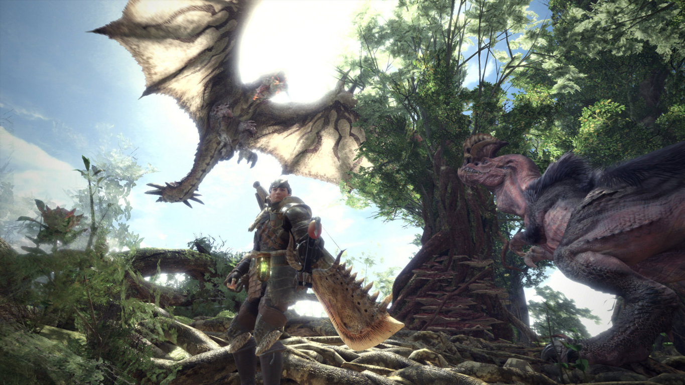 Monster Hunter World img004 geekgamer