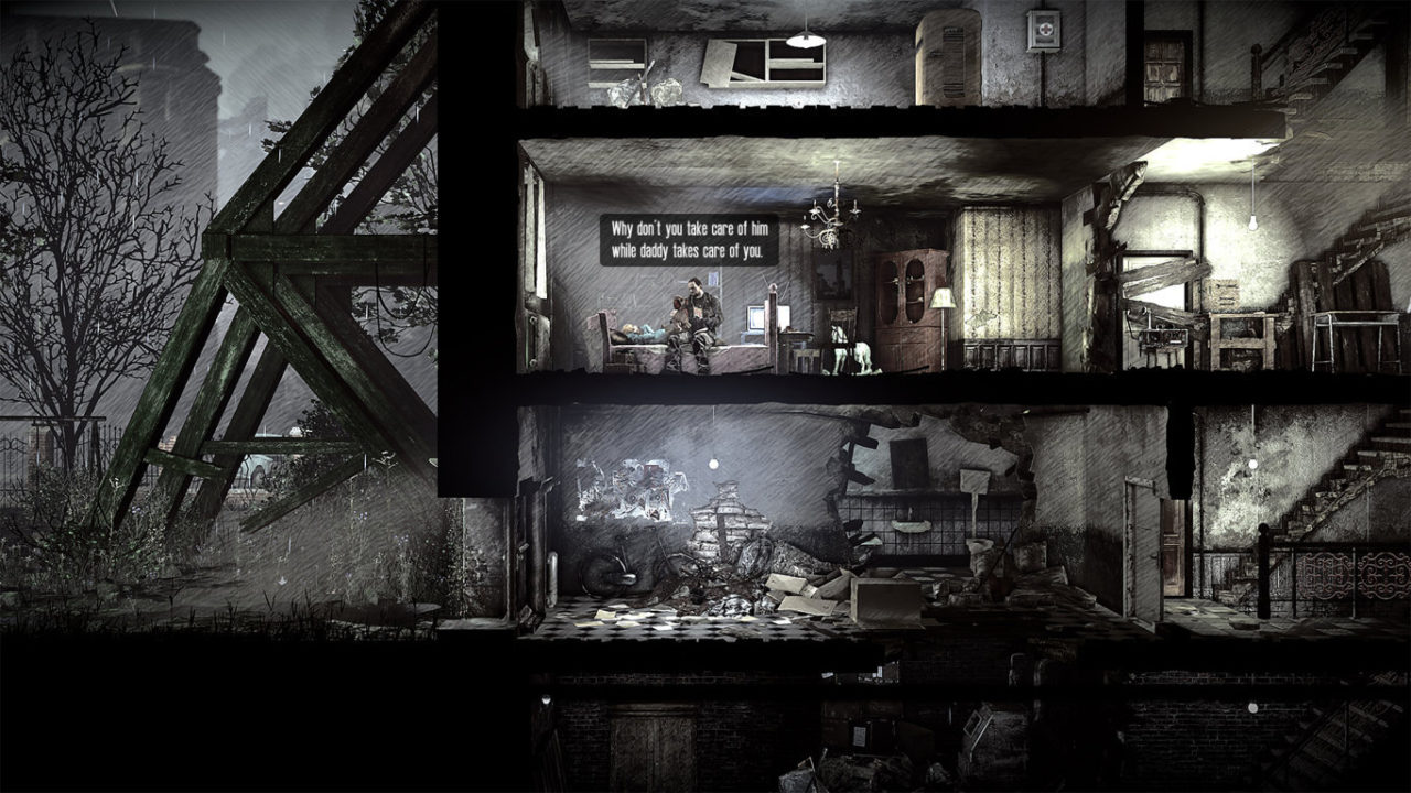 This War of Mine Stories Father's Promise img geekgamer