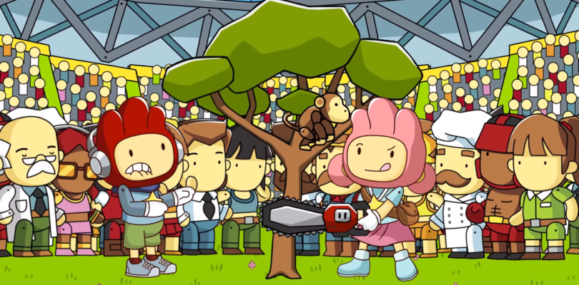 Scribblenauts Showdown – Disponibile da domani per PS4, Xbox One e Nintendo Switch
