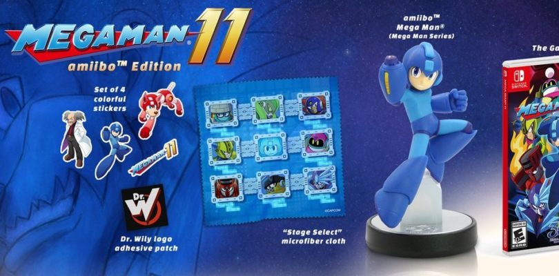 Mega Man 11 per Nintendo Switch solo digitale: l'amiibo scompare dai negozi europei