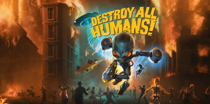 Destroy All Humans! key art