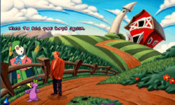 Guidate Christopher Lloyd in mezzo ai cartoon di Toonstruck, ora gratuito su GOG