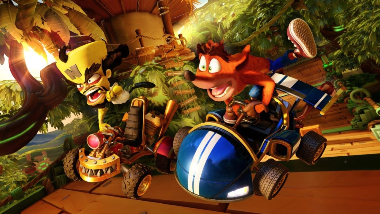 crash team racing1 min