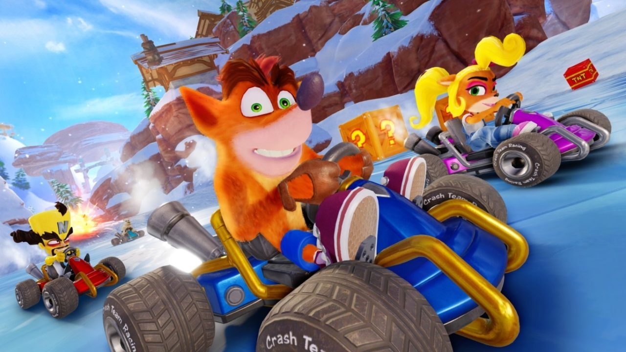 crash team racing2 min