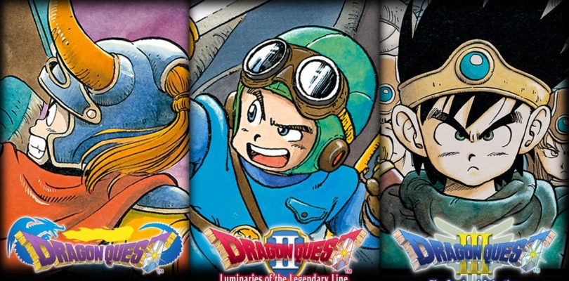 I primi tre capitoli di Dragon Quest arriveranno su Switch in inglese