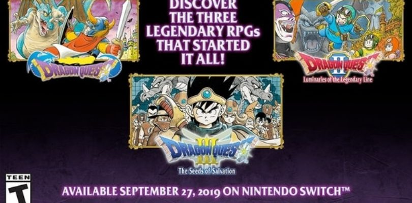 Noi ve l'avevamo detto: Dragon Quest I, II e III arrivano in Occidente per Nintendo Switch